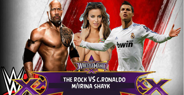 (VIDEO)Rvački meč Ronaldo vs The ROCK
