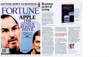 """FORTUNE"" MAGAZIN ON THE BOOK  ""BUSINESS AS ART OF LIVING"" WRITTEN BY PROFESSOR MIĆA JOVANOVIĆ"